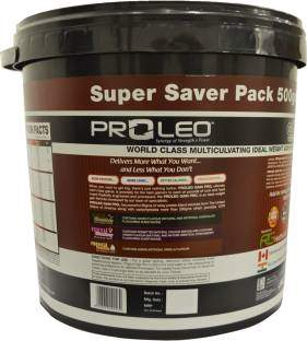 Proleo Gain Pro Mass Gainer (5.49Kg, Vanilla)