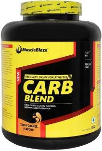 MuscleBlaze Carb Blend (3Kg, Orange)