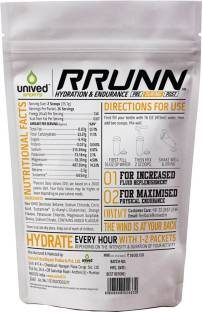 Unived Rrunn During Isotonic Electrolyte Sports Drink Mix (Orange, 25 Servings)