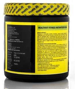 Healthvit Instantized BCAA 6000 2:1:1 Powder (200gm, Pineapple)