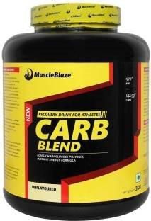 MuscleBlaze Carb Blend (6.6 lb) 3 kg  Unflavoured