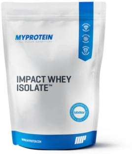 MyProtein Impact Whey Isolate Protein (2.5Kg, Natural Chocolate)