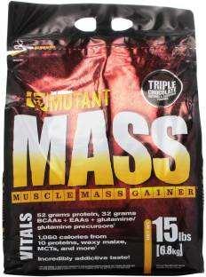 Mutant Mass Gainer (6.5Kg, Chocolate)