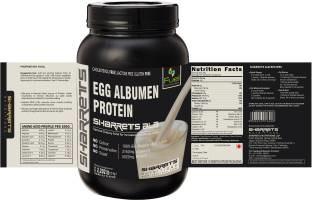 Sharrets Nutritions Alb Egg Albumen Protein Powder (1Kg, Vanilla)