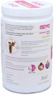 O'Ziva Protein & Herbs For Women (500gm, Chocolate)