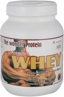 Ankerite Whey Protein Natural Powder (500gm, Chocolate)