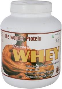 Ankerite Whey Protein Natural Powder (1Kg, Chocolate)