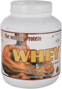 Ankerite Whey Protein Natural Powder (1Kg, Chocolate)