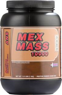 Kudos Mex Mass Weight Gainer (1Kg / 2.2lbs, Chocolate)