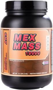 Kudos Nutrition Mex Mass 10000 Protein (2Kg, Chocolate)