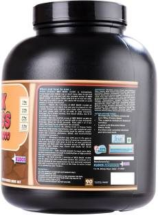Kudos Nutrition Mex Mass 10000 Protein (3Kg, Chocolate)