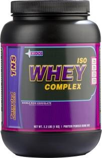 Kudos Iso Whey Complex Protein (1Kg / 2.2lbs, Chocolate)