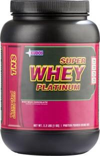 Kudos Super Whey Platinum Protein (1Kg, Chocolate)
