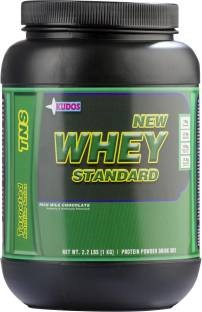 Kudos New Whey Standard Protein (1Kg, Chocolate)