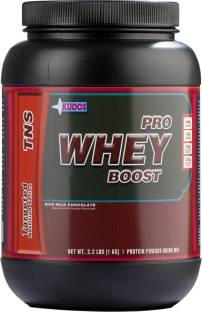 Kudos Pro Whey Boost Protein (1Kg, Chocolate)