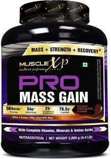 MuscleXP Pro Mass Gainers (2Kg / 4.41lbs, Chocolate)