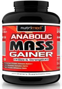 Nutrimed Anabolic Mass Gainer (2.5Kg, Kesar Pista Badam)
