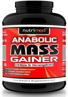 Nutrimed Anabolic Mass Gainer (2.5Kg, Chocolate)
