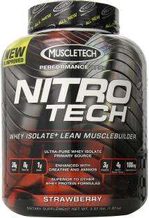 Muscletech Nitrotech Performance Series (1.8Kg, Strawberry)