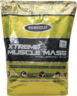 Big Muscle Xtreme Muscle Mass (5Kg, Chocolate)