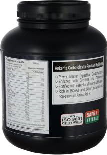 Ankerite Carbo Blaster Mass Gainer (1Kg / 2.2lbs, Chocolate)
