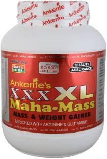 Ankerite XXX XL Maha Mass Gainer (1Kg, Chocolate)