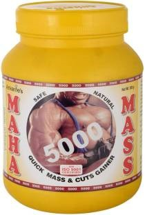 Ankerite Maha Mass 5000 Gainer (1Kg, Chocolate)
