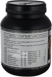Ankerite X-C-Lent Weight Gainer (500gm, Chocolate)