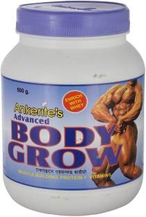 Ankerite Advanced Body Grow Natural Powder (500gm, Chocolate)