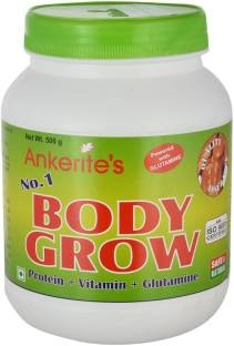 Ankerite No.1 Body Grow Natural Powder (500gm / 1.11lbs, Chocolate)