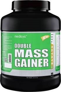 Medisys Double Mass Gainer (3Kg, Banana)