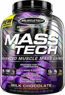 Muscletech Performance Series Mass Tech (3.17Kg, Chocolate)