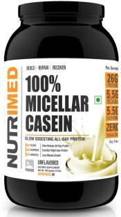 Nutrimed 100% Micellar Casein Protein (908gm, Unflavoured)