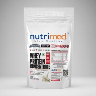 Nutrimed Whey Protein Concentrate (908gm, Vanilla)
