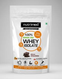 Nutrimed 100% Grass Feed Whey Isolate (908gm, Chocolate)