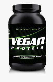 Health Naturels VEGAN Protein Enriched with Almond and Walnut (1Kg, Chocolate)
