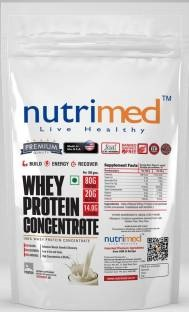 Nutrimed Whey Protein Concentrate (908gm, Banana)