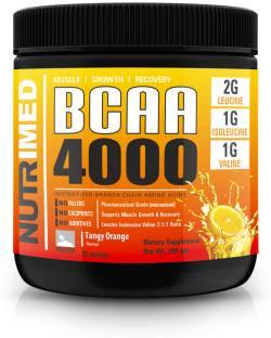 Nutrimed Instantized 4000 BCAA (200gm, Orange)