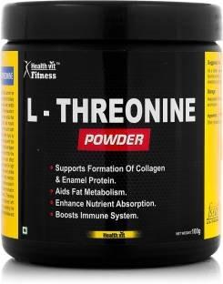 Healthvit L-Threonine Powder (100gm / 0.23lbs)