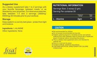 Healthvit L-Alanine Powder (100gm / 0.23lbs)
