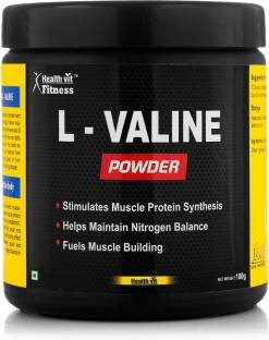 Healthvit L-Valine Powder (100gm / 0.23lbs)
