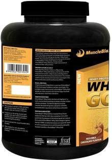 MuscleBlaze Whey Gold Protein (2Kg, Chocolate)