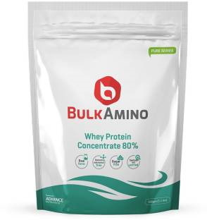 Advance Nutratech Bulk Amino Whey Protein Concentrate 80% Powder (500gm)