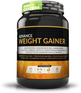 Advance Nutratech Weight Gainer Supplement (3Kg, Banana)