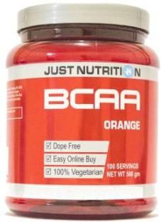 Just Nutrition BCAA Powder (500gm, Orange)
