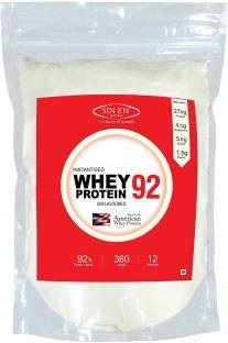 Sinew Nutrition Instantised Whey Protein 92 (360gm / 0.8lbs, Unflavoured)