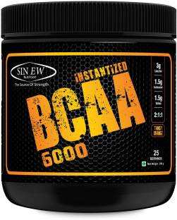 Sinew Instantized BCAA 6000 (400gm, Orange)