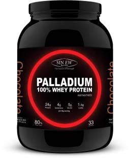 Sinew Nutrition Palladium 100% Whey Protein (1Kg, Chocolate)