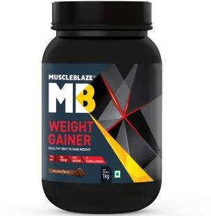 MuscleBlaze Weight Gainer with Added Digezyme (1Kg, Chocolate)