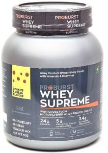Proburst Whey Supreme Protein (2Kg, Cookies and Cream)